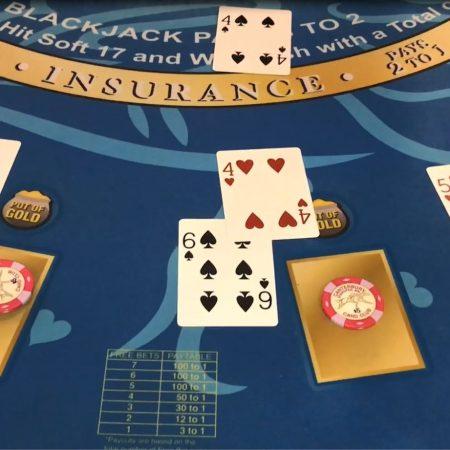 Blackjack without busting 21