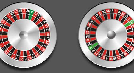 Playing roulette wheel